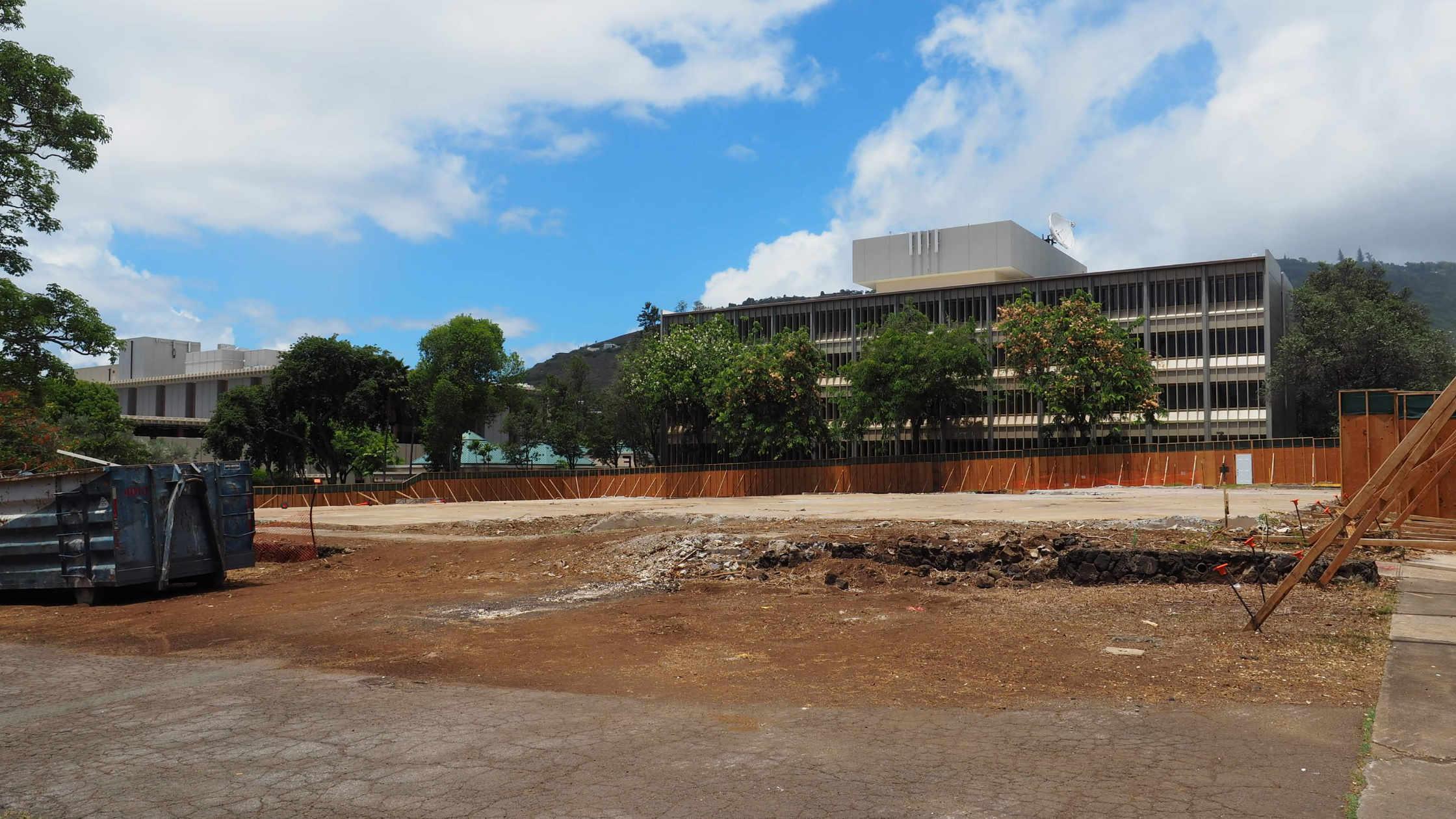 Henke Hall demolition complete