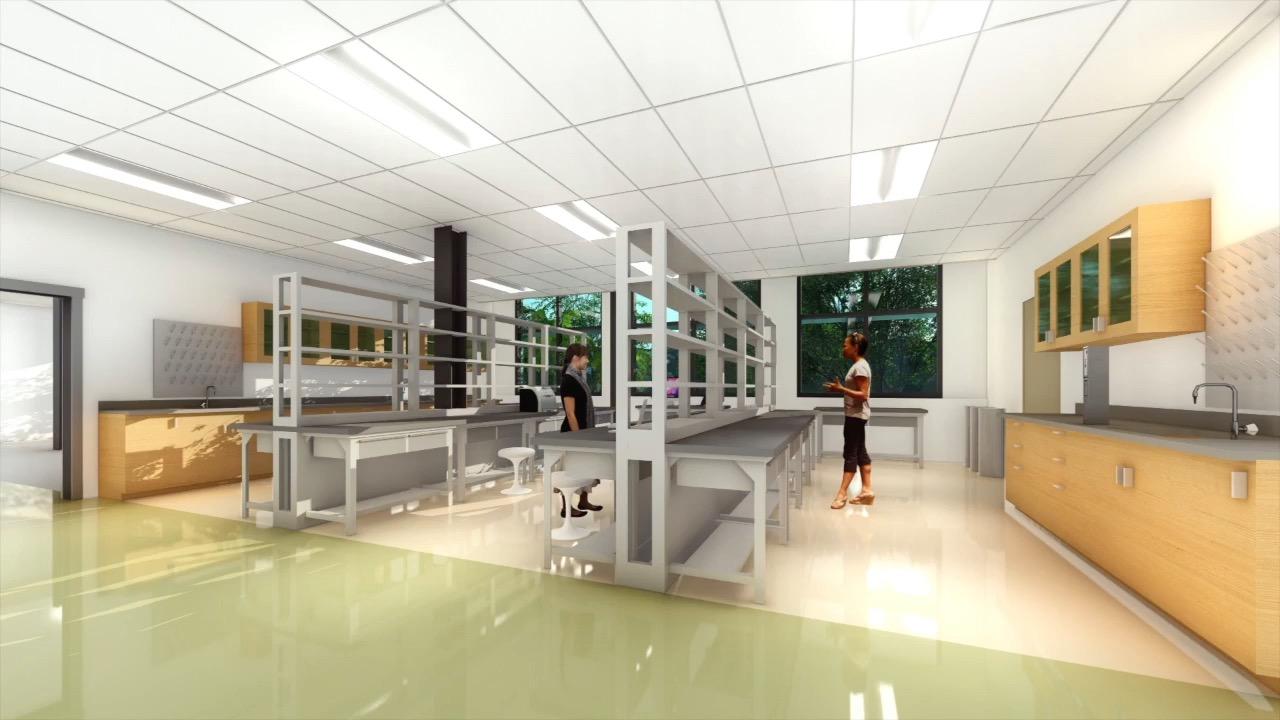 Life Sciences Building Lab